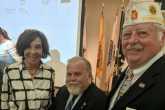 September 3, 2019 - Senator Iovino participated in a roundtable discussion on the serious and tragic issue of veteran suicide. The event brought together federal, state, and local lawmakers, veteran service organizations, and foundations from our region for a conversation on prevention, intervention, and best practices to directly connect veterans with needed resources.