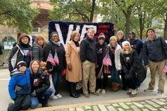 November 9, 2019- Senator Iovino attends the Pittsburgh Veterans Day Parade.