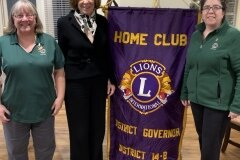 January 6, 2020 - Senator Iovino gets installed as a member of the Whitehall Community Lions Club