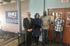 January 17, 2020 - Senator Iovino tours the Robert Morris University Center for Veterans and Military Families