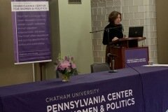 "January 25, 2020 - Senator Iovino serves as the keynote speaker at the Pennsylvania Center for Women and Politics' ""Ready To Run PGH"" campaign training for women"