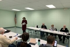 February 20, 2020 - Senator Iovino attending the South Hills Area Council of Governments (SHACOG) meeting to share legislative updates