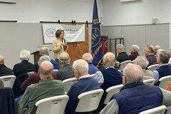 February 14, 2020 - Senator Iovino speaks at the Sewickley Men's Club weekly meeting