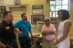 July 30, 2019 - Senator Iovino Visits the Bridgeville Area Historical Society.