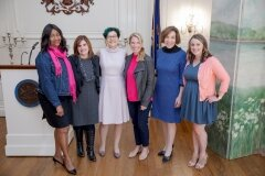 October 4, 2019 - Senator Iovino attends a Breast Cancer Awareness Month Reception with Adagio Health and the PA Commission for Women.