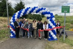 June 13, 2019 - Senator Iovino joins local leaders and residents to cut the ribbon on the new Discovery path in Collier Township.This 1.2-mile trail offers beautiful vistas for residents & visitors. So glad that state grant funding could help deliver this amenity for residents of the 37th District! ‬