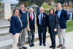 November 11, 2019- Senator Iovino attends the Mt. Lebanon Veterans Day Ceremony.