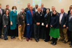 January 8, 2020 - Senator Iovino attends a bipartisan discussion on transportation funding and infrastructure needs in Allegheny