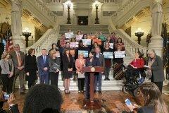 January 28, 2020 - Senator Iovino attends Senator Maria Collett's Family Care Act Press Conference