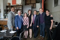 May 23, 2019: Senator Pam Iovino visits Bar Marco in the Strip District as part of the Real Jobs, Real Pay Tour. This location was chosen because it is a perfect example of a business doing the right thing for their employees and paying a not only a minimum wage, but a living wage.